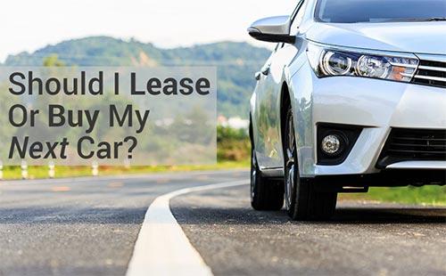 should i lease or buy car