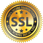 SSL - 100% Secure Transactions