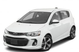 Lease 2020 Chevrolet Sonic Gallery 2