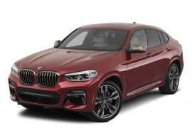 Lease 2020 BMW X4 Gallery 1