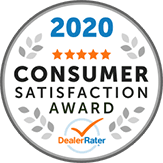 2020 Consumer Satisfaction Award - Leasing Company New York