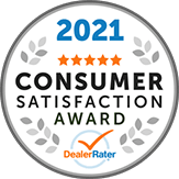 2021 Consumer Satisfaction Award - Leasing Company New York