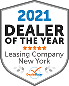 2021 Dealer of the Year - Leasing Company New York